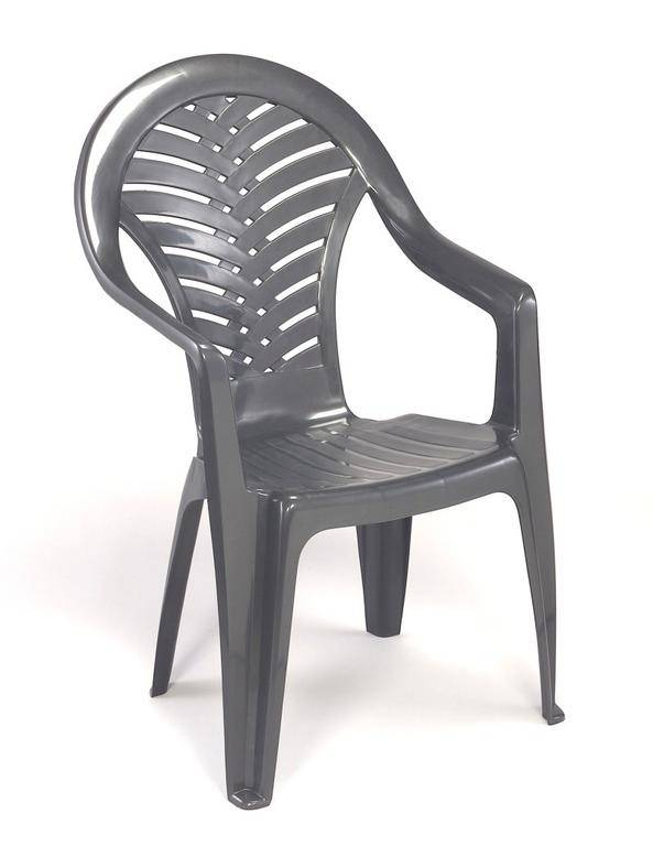c7d4b010f507 Plastová stolička Ocean - vysoká